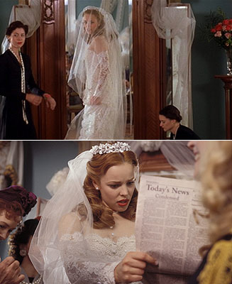 6 most iconic wedding dresses in film and tv for The notebook wedding dress