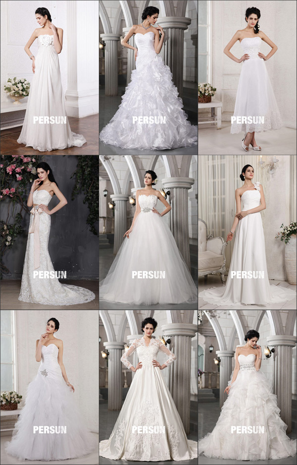 How to Choose the Perfect Wedding Gown Style to Be a ...