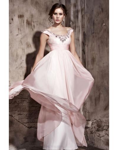 Sleeveless Prom Dress at PERSUN