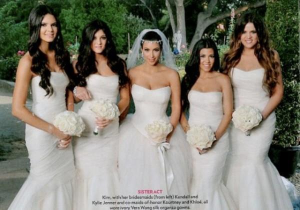 Kim Kardashian Bridesmaid Dresses