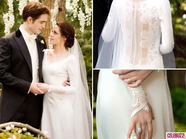 Twilight:Breaking Dawn Bella Lace Wedding Dress