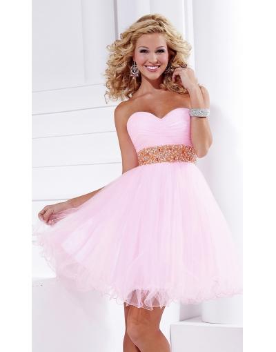2012 Summer Pink Homecoming Dress at persun.cc