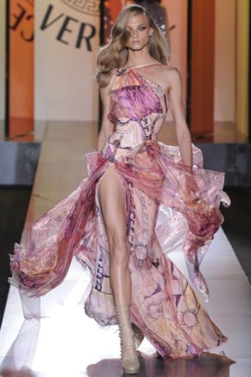 Floral Slit Front Dress