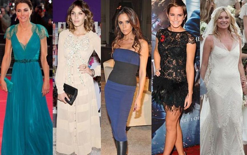 UK Celebrity Fashion Dress