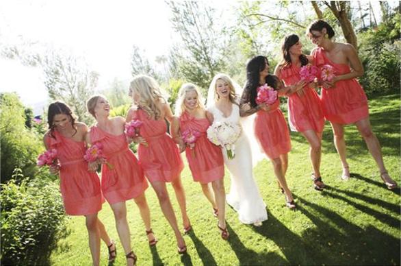 One Shoulder Bridesmaid Dress 2012
