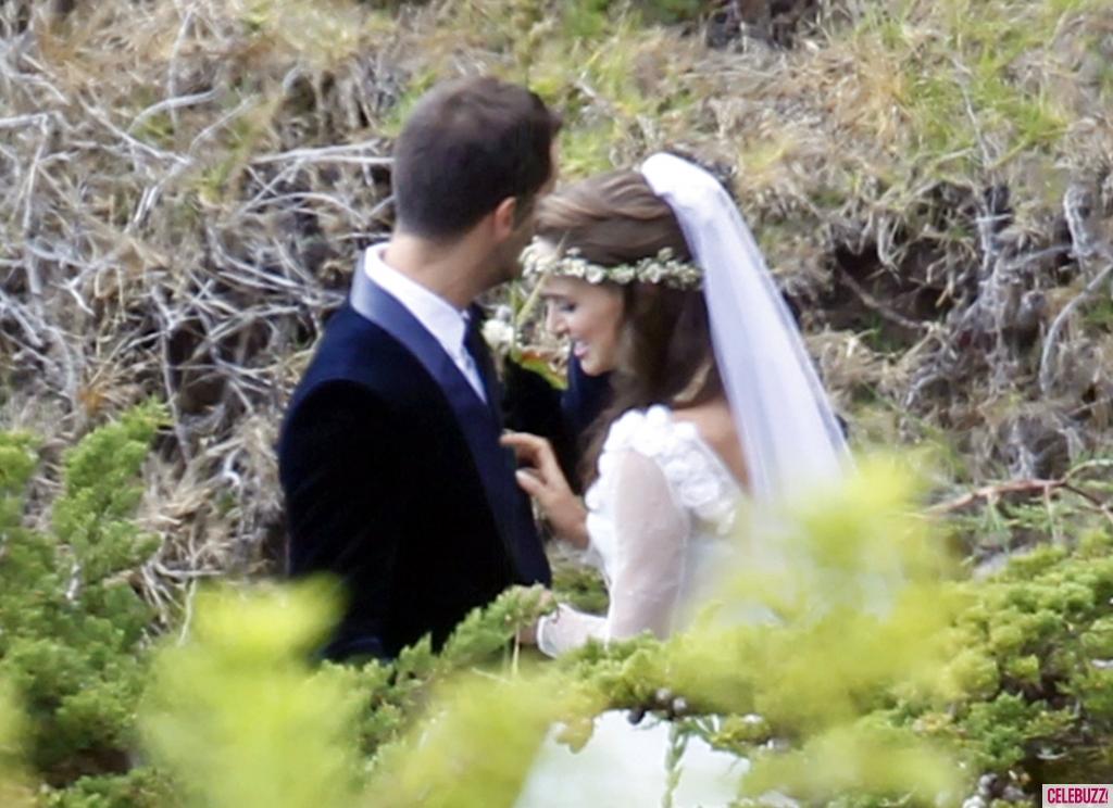 Natalie Portman Wedding Gown 2012