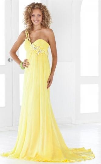 Shoulder formal dress