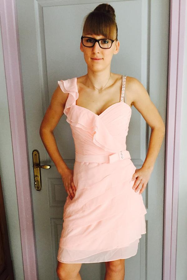 short halter evening prom dresses