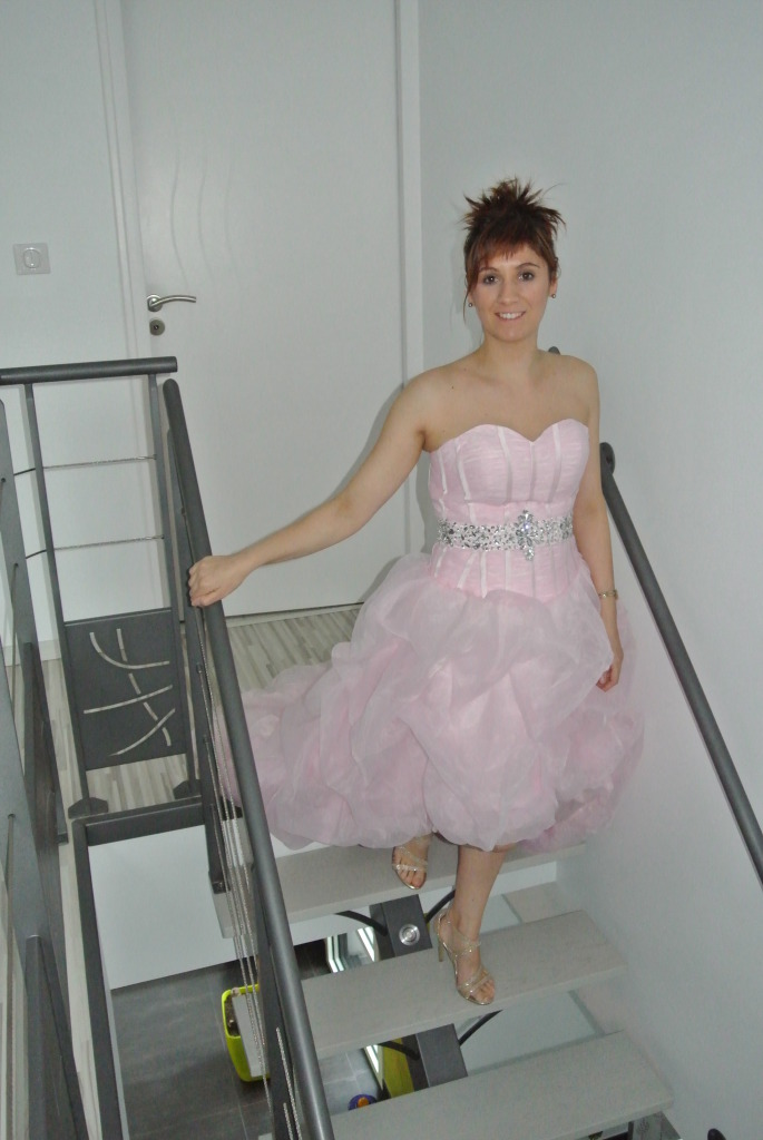 high low pink prom dresses cheap online
