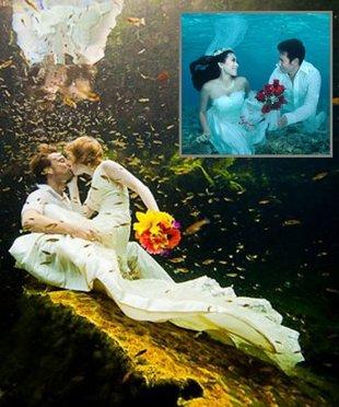 unique underwater wedding-4