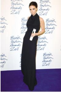 celebrity evening dresses in black full length