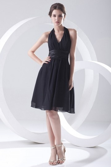 Buy short black bridesmaid dress UK