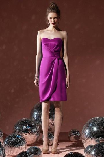 buy discount short purple bridesmaid dresses UK 2015