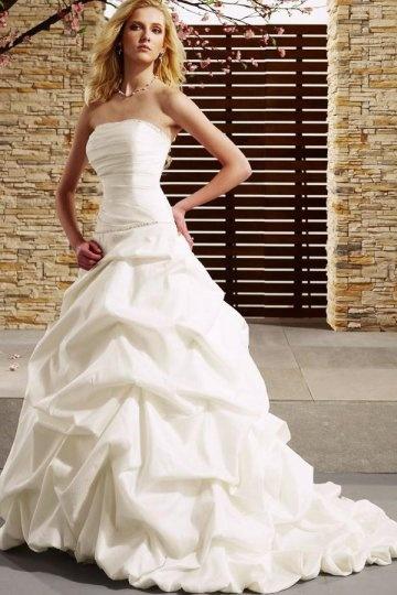 buy discount strapless wedding dresses UK online