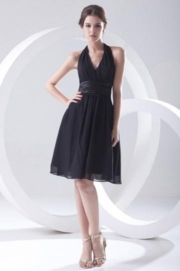 Elegant black bridesmaid dresses UK online