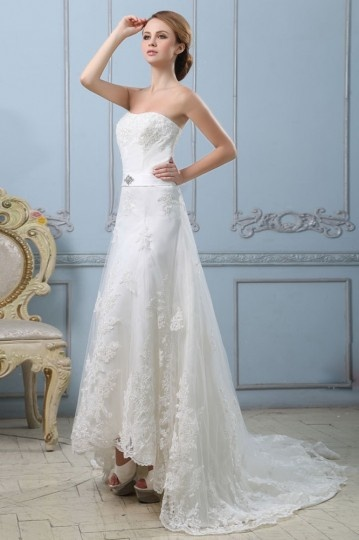 Buy discount strapless wedding dresses UK 2015 online