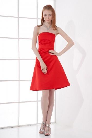 buy discount short red bridesmaid dresses UK online