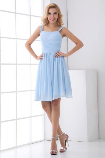 Buy discount short blue bridesmaid dresses  2015 UK online