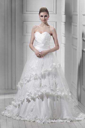 Buy discount elegant A line wedding dresses UK online