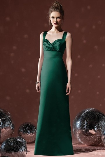 buy discount dark green bridesmaid dresses UK online