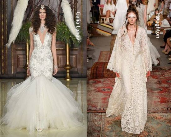 V Neck Wedding Dresses