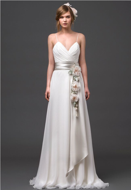 sexy wedding gown