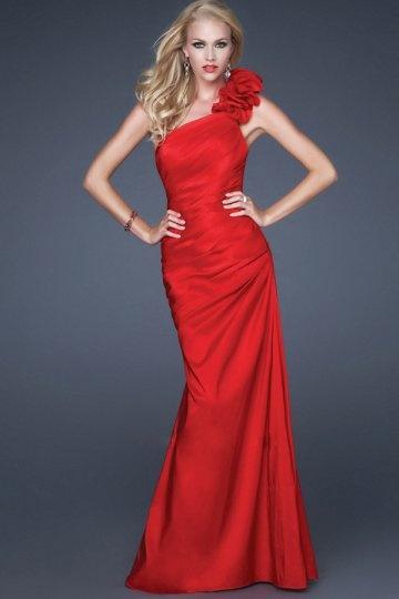 buy discount one shoulder  evening gowns UK online