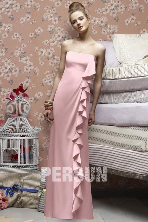cheap-pink-Bridesmaid-Dresses