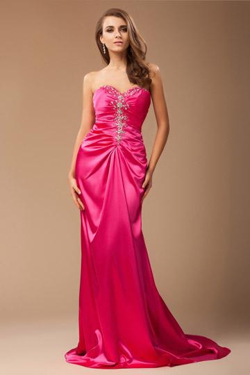 buy cheap red evening dress Persun online