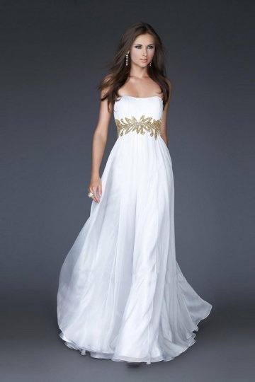 buy cheap white evening gowns online