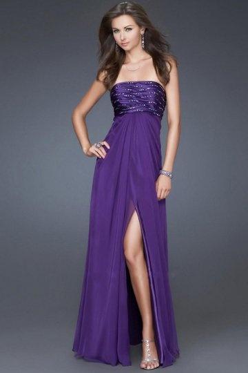 buy discount purple evening gowns online