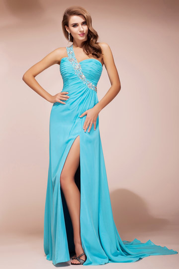 Buy discount blue evening gowns 2015