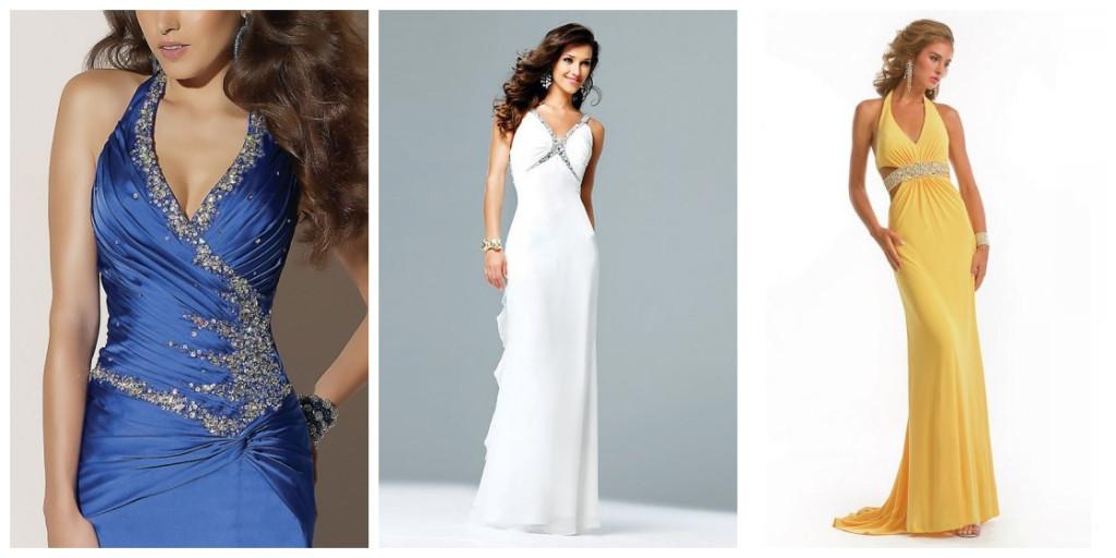 Buy discount sexy  V neck evening dresses Persun online