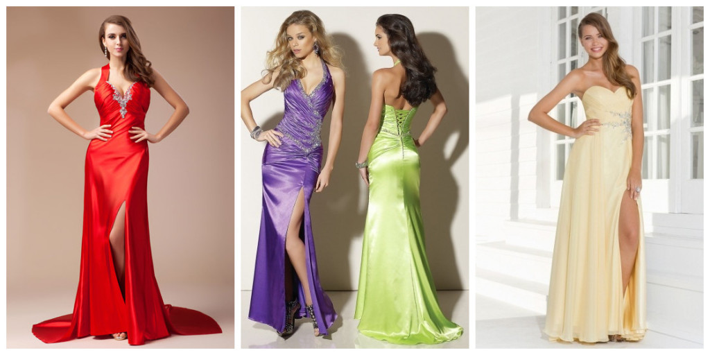 buy sex y evening dresses with front slit