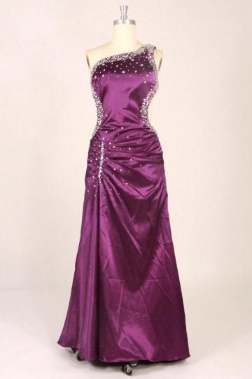 buy discount beaded  purple evening dresses  UK online