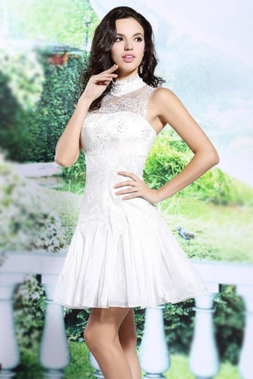 buy discount short white evening gowns Persun