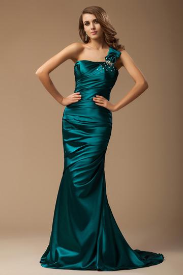 Buy discount one shoulder evening dresses online