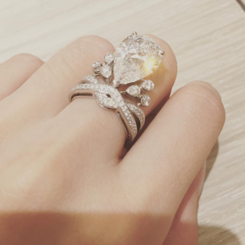 angelababy wedding ring